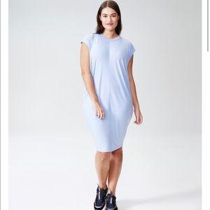 "Universal Standard ""Carrea"" relaxed midi dress"